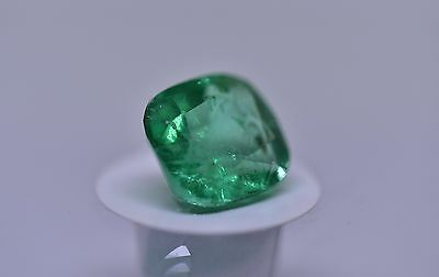 Emerald Colombian 3.433ct Loose Gemstone - INS & RRV A$ 6,200 NCJV certification