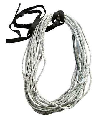 Silver 3/16 AmSteel Blue 50 ATV Cable Rope