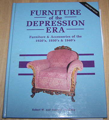 Art Deco ,Depression Furniture  guide book in color ..143pages  ...hardback
