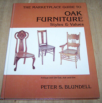 Oak Furniture style guide book  .. 127 pages  ...hardback