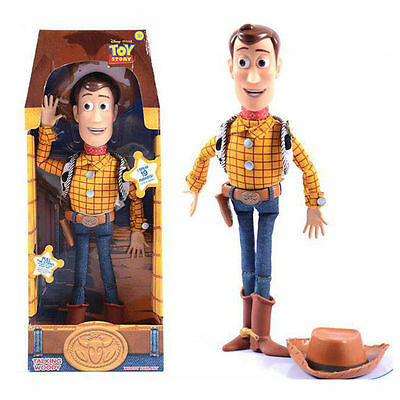 Disney Toy Story Woody Sheriff Pull String Talking Doll Figure 19 Phrases