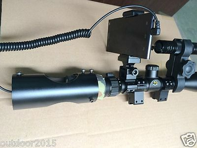 Riflescope Add On DIY Night Vision Scope Connecting with Mobile Phone