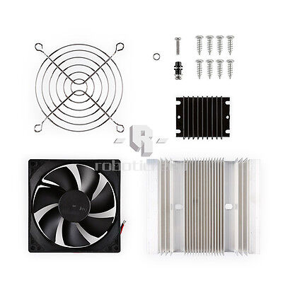 TEC1-12706 Thermoelectric Peltier Module Cooler Cooling System DIY Kit