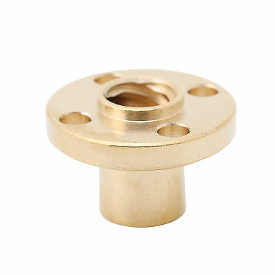 3D printer parts Copper Trapezoidal Screw Nut for T8 Screw T8 nuts stepper motor