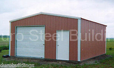 DuroBEAM Steel 30x30x12 Metal Building Shed Residential Garage Workshop DIRECT
