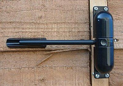Spectra  Black Spring Door and Gate Closer Indoor or Outdoor use