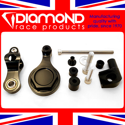 Diamond Race Products - Steering Damper Fitting Kit For 2017 17 Yamaha R6 Models