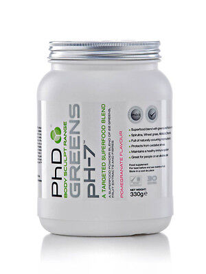 PhD Greens pH-7 - 330g - Pomegranate