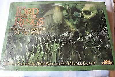 Games Workshop Lord of the Rings LoTR Fellowship of the Ring Boxed Game BNIB OOP