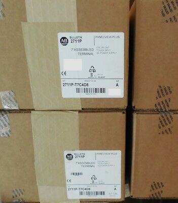 Allen Bradley 2711P-T7C4D8 PANELVIEW PLUS (FACTORY SEALED 2017) 7 INCH HMI COLOR