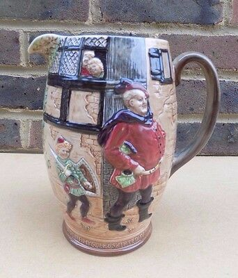 BESWICK Shakespeare's Merry Wives of Windsor  Large Relief Jug