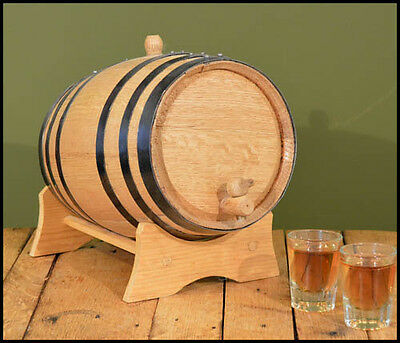 USA Made 1L - 20L White Wood Whiskey Oak Barrel - For Aging Whiskey & Spirits