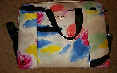 kate spade laptop 15 in bag watercolor