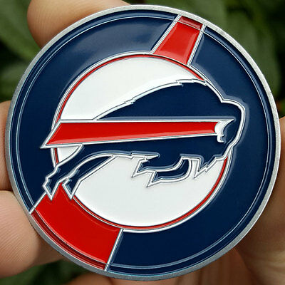 PREMIUM NFL Buffalo Bills Poker Card Protector Golf Marker NEW Collector Coin
