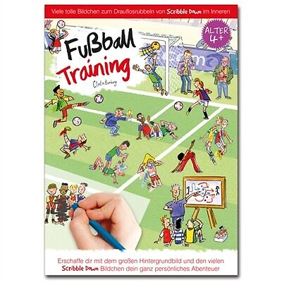 Scribble Down-Fußball Training