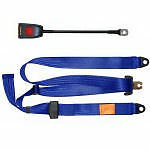 NEW Securon Seat Belt 300/45 Blue Static Adjustable Lap & Diagonal Belt x1