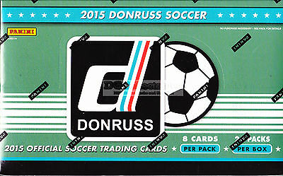 2015 Panini Donruss Soccer Football Factory Sealed Hobby Box New Express Post!!!