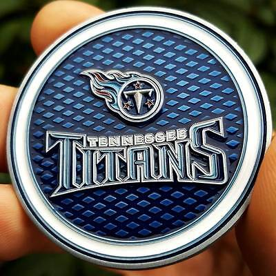 PREMIUM NFL Tennessee Titans Poker Card Protector Golf Marker Collect Coin NEW