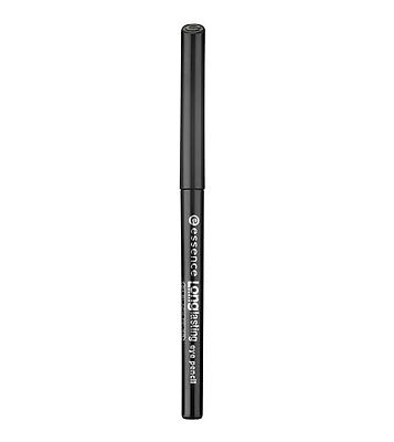 essence long-lasting eye pencil 01 black fever matita occhi nero