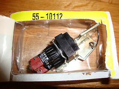 New Eao 51-355.025D2 2-Position Key Selector Switch