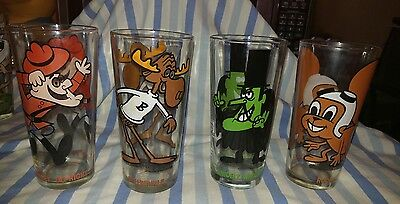 4 ward production glasses rocky bullwinkle snidely whiplash dudley do right