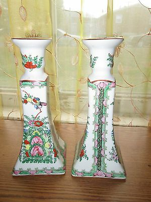 Chinese antique Ceramic Candle holders