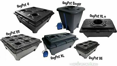 1 2 4 or 6 Pots IWS Deep Water Culture DWC OxyPot Bubbler Hydroponic System Kit