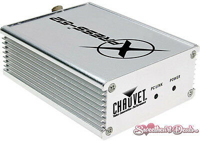 Chauvet DJ Xpress 512 DMX-512 USB Lighting Control Interface