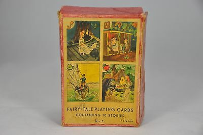 Fairy-Tale Playing Cards No.1 + Rules (Boxed) c.1950's