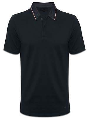 Emporio Armani EA marine Mens Polo Shirt Denim col