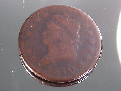 1810 Large Cent Penny Coronet Head