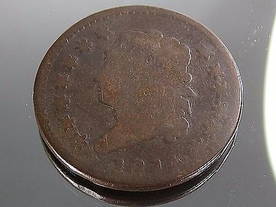 1814 Large Cent Penny Coronet Head