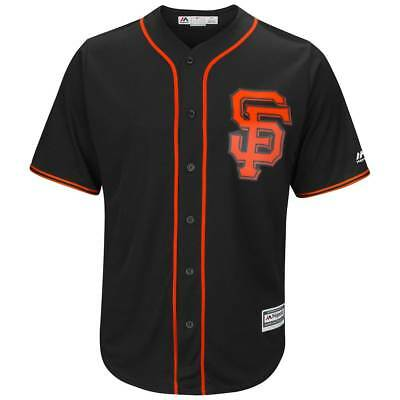 Majestic San Francisco Giants Cool Base MLB Trikot Alternate Schwarz