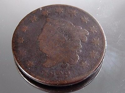 1829 Large Cent Penny Coronet Head
