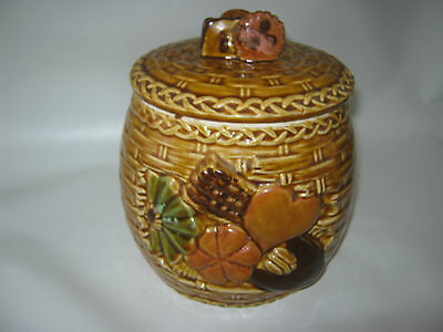 Vintage 1950's Japan Cookies Ceramic Cookie Jar