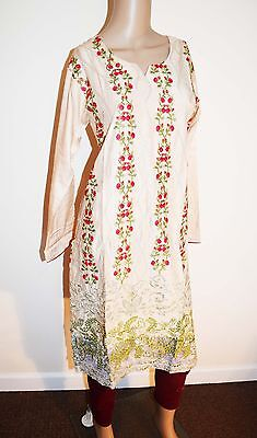 New designer embroidered kurta linen kurti tunic kameez