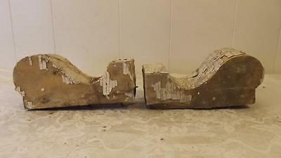 Lot of 2 Antique Corbels Architectural Salvage