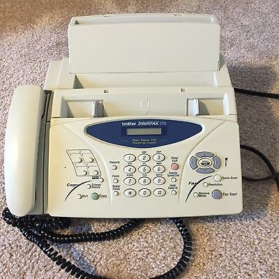 Brother™ IntelliFAX 775 Fax Machine Transceiver Fax / Phone / Copier