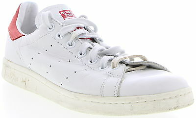 "Men's ADIDAS ""Stan Smith"" White Leather Casual Shoes Size 10"
