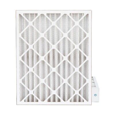 "20x25x4 MERV 8 Pleated AC Furnace Air Filters.   2 Pack  (Actual Depth: 3-3/4"")"