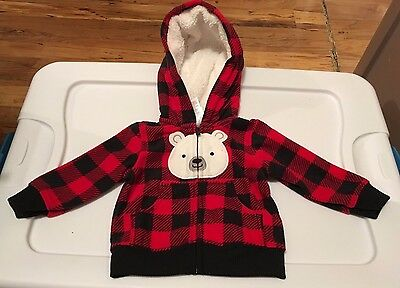 Just One You by Carter's Infant Jacket Hoodie 3 Months