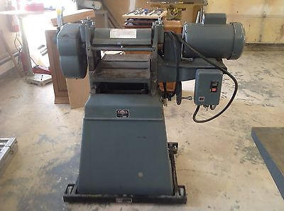 """PARKS, 12"""" , Wood Thickness Planer, With Original Base"""