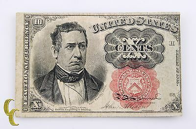 Series of 1874 US Note 10 Cent Fractional Currency Allison/Spinner