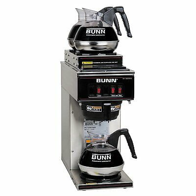 Commercial Coffee Maker Machine Brewer Pourover Portable Stainless Steel Bunn