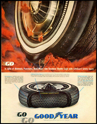 1963 vintage ad for Goodyear Tires -833