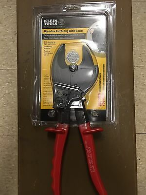Klein Open-jaw Ratcheting Cable Cutter #63711