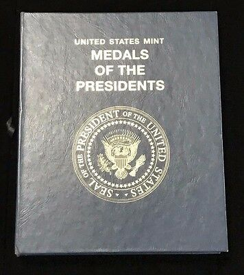 United States Mint - Medals of the Presidents  in Whitmann Book 42 Total