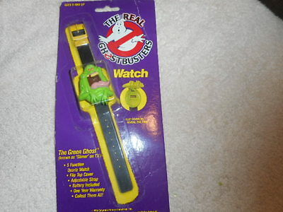 Ghostbusters Watch - SLIMER - The Green Ghost 1989 MOC