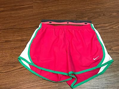 KIDS CHILD YOUTH Nike Dri Fit Athletic Running Shorts PINK Size L EUC