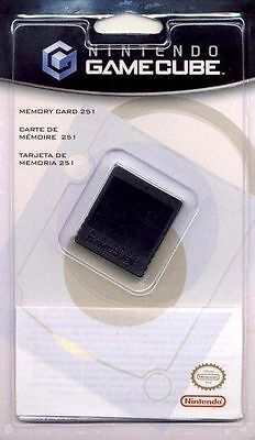 Nintendo GameCube Memory Card 251 Blocks BRAND NEW Offical Product Game Cube